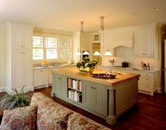 upper room kitchen idea