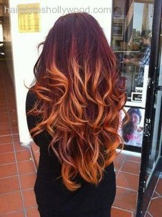 Copper ombre hair color Models copper gold ombre | Hair Envy | Pinterest Top 2 Celebrity Sombré Hair Colors 2014 Spring: Dark Brown … The 30 Hottest Ombre Hair Colors You'll Ever See red hair with blonde hombre on Pinterest | Ombre, Copper and Red … Auburn Fire Ombre/Auburn faded to Red Blonde/Copper/Clip In … …