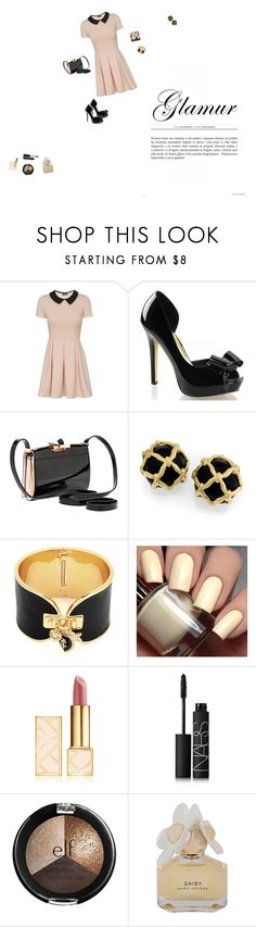 """Glam"" by cunicorn-1 on Polyvore featuring Ted Baker, Juicy Couture, Tory Burch, NARS Cosmetics, Marc by Marc Jacobs and Glamour"