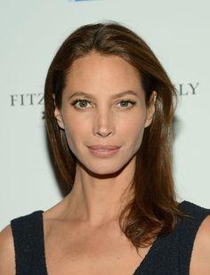 luminous makeup | Model Christy Turlington attend Tribeca Film's Special New York ...