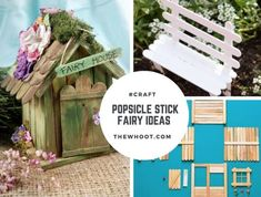 DIY Popsicle Stick Fairy ideas | The WHOot