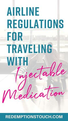 Knowing the rules and regulations about traveling with medications will keep you from experiencing delays with airport security. Chronic Fatigue Syndrome, Chronic Illness, Chronic Pain, Fibromyalgia, Good Health Tips, Health Advice, Health And Wellness, Gut Health, Alternative Therapies