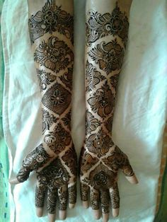 Explore latest Mehndi Designs images in 2019 on Happy Shappy. Mehendi design is also known as the heena design or henna patterns worldwide. We are here with the best mehndi designs images from worldwide. Wedding Henna Designs, Latest Bridal Mehndi Designs, Henna Art Designs, Mehndi Designs 2018, Modern Mehndi Designs, Mehndi Design Pictures, Dulhan Mehndi Designs, Beautiful Henna Designs, Mehndi Designs For Hands