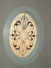 Oval windows window treatments and window on pinterest for Oval window treatment ideas