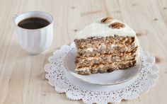 "Prajitura ""Ileana"" - desert delicios si rapid de casa - KFetele April Recipe, Hummingbird Cake Recipes, Yellow Cake Mixes, Spice Cake, Cinnamon Cream Cheeses, Food Cakes, Cake Pans, Let Them Eat Cake, How To Make Cake"