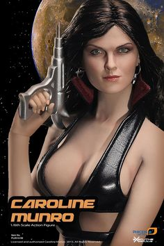 """(248.00$)  Watch now - http://aijmn.worlditems.win/all/product.php?id=32450706668 - """"PHICEN 1/6 Scale Caroline Munro Super flexible action figure doll with stainless steel skeleton,12"""""""" Sexy female doll model toy"""""""
