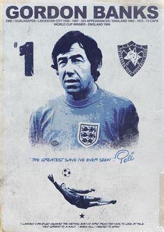 Leicester Legends by Martyn Dawson, via Behance