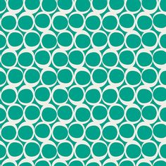 Art Gallery Fabrics - Round Elements - Round Elements in Spearmint Float
