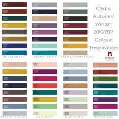 tuesday trending: csi's autumn/winter 2016/2017   @meccinteriors   design bites