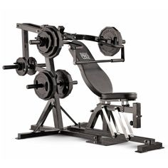dc621849afc Marcy Pro PM4400 Leverage Home Gym ~~~   Adjustable bench and seat pads can