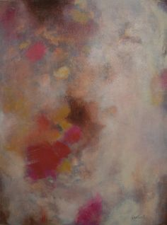 """""""Gelato"""" by Jane Ingols. 20 x 16 inches. Acrylic on board. SOLD. #abstract #contemporary"""