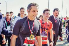 The Kindness Project in the Middle East: Bassem Youssef attends 2014 Cairo half marathon