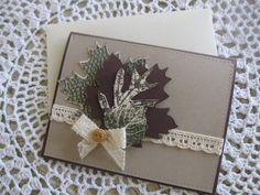 Stampin' Up Handmade Greeting Card: Fall Greetings