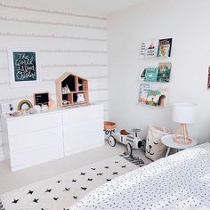 """We all know that wallpaper is all the rage right now but let's be honest, it can be quite an investment, time consuming to install, and hard to remove. If you are wanting to achieve the """"wallpaper"""" look but not the hassle, wall decals are the perfect solution! ⠀⠀⠀⠀⠀⠀⠀⠀⠀ They take mere minutes to install, come right off of the wall, and are a much more sensible investment. ⠀⠀⠀⠀⠀⠀⠀⠀⠀"""