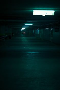 abandoned parking garage. The mood in this photo. Love it.