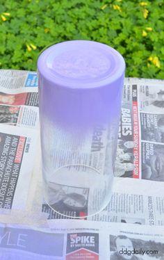 DDG DIY: Ombre vase tutorial