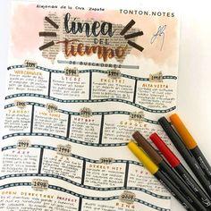 Bullet Journal Notebook, Bullet Journal School, Bullet Journal Ideas Pages, Bullet Journal Inspiration, Life Hacks For School, School Study Tips, School Organization Notes, School Notes, Cute Notes