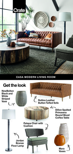 We love the fresh modern look of bright pops of color, trend-forward shapes and thoughtfully-designed décor. My Living Room, Home And Living, Living Room Decor, Bedroom Decor, Modern Living, Living Room Inspiration, Home Decor Inspiration, Decor Ideas, Interior Design Living Room