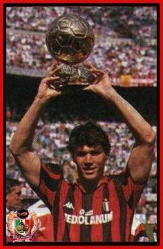 Marco Van Basten Marco Van Basten, Ac Milan, Graphic Art, Soccer, In This Moment, Sports, Cards, Vintage, Amor