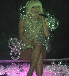 Make a Lady Gaga Bubble Costume
