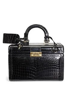 What! I totally need this Armani Crocodile Train Case! its only SALE $4500 from $22850