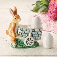 Vintage Rabbit Salt & Pepper Shakers | Gump's