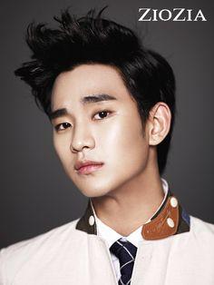 Kim Soo Hyun (김수현) for ZIOZIA