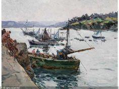 Claude Bils 1884-1968 Le Rosmeur Douarnenez