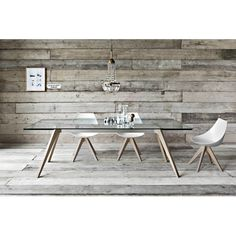 Found it at Wayfair - Delta Extendable Dining Table