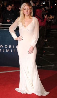 Ellie Goulding at Les Miserables World Premiere