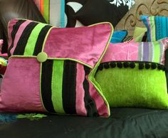 Custom Made Custom Made Cushions by Jane Hall The Voice of Style Hall Furniture, Upholstered Furniture, Furniture Design, Bed Throws, Throw Pillows, Velvet Bedroom, Custom Made, Feather, Cushions