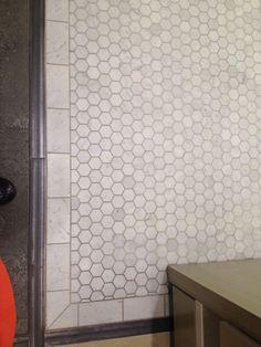 subway tile border hex - Google Search