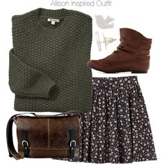 A fashion look from November 2013 featuring Barbour sweaters and Monki skirts. Browse and shop related looks.