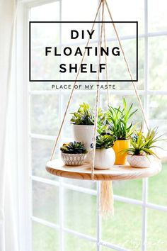 How to Build A Functional Floating Shelf - 109 Easy Ideas to Build DIY Shelves for Your Home Decor - DIY & Crafts