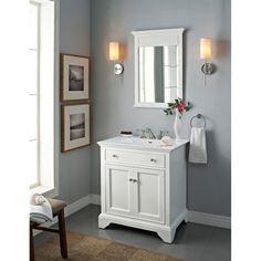 Fairmont Designs 30 Inch Framingham Vanity with Integrated Sink Option - Polar White Fairmont Designs http://www.amazon.com/dp/B00EJQBJJM/ref=cm_sw_r_pi_dp_UVUoub170W1XA
