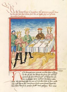 """""""The story of Pontus und Sidonia"""" from the workshop Ludwig Henfflin, c. 1475"""
