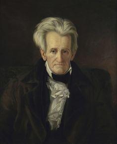 George Healy: Portrait of Andrew Jackson