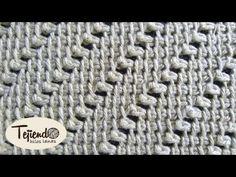 Punto tejido a ganchillo en relieve - YouTube