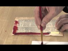 In this http://ArtistsNetwork.tv and http://createmixedmedia.com video workshop, Seth Apter shares surprising techniques for adding interesting texture and mixed-media layers to your art journal or artist's book.
