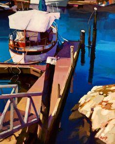Still Water, Ganges, B.C., by Mike Svob