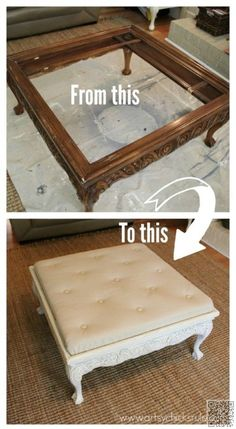 Don't #Throw Away Your Old Furniture - 29 Upcycled Furniture Projects You'll Love!