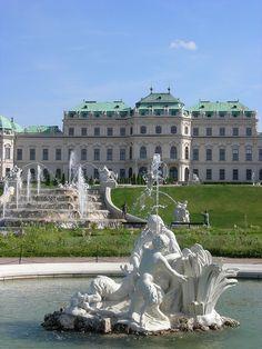 Schloss Belvedere, Vienna, Austria / by BETAFI (ΒεταΦι) on Flickr.