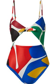 Kia Cutout Printed Swimsuit Fashion Kids c9e3003be346f