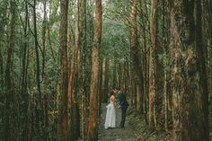 WEDDING – BEN + RI – CASCADE GARDENS » FRED AND HANNAH, HOBART, WEDDING PHOTOGRAPHERS