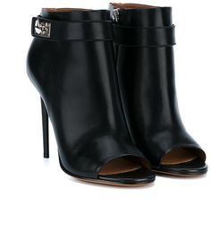 GIVENCHY Open-Toe Ankle Boots