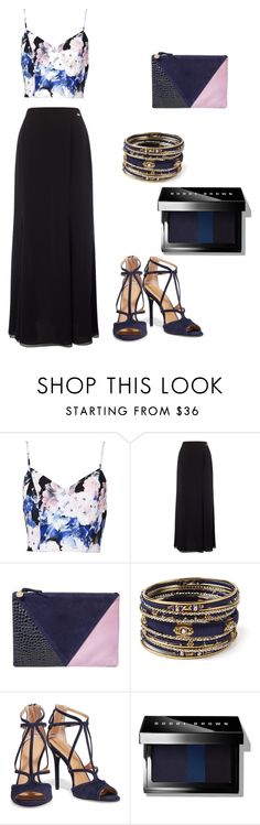 """""""Untitled #72"""" by clairepardoo ❤ liked on Polyvore featuring Keepsake the Label, Jacques Vert, Clare V., Amrita Singh, Halston Heritage and Bobbi Brown Cosmetics"""