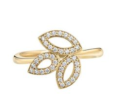 Lily Cluster Mini Ring