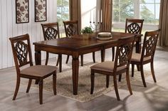 Furniture Stores Tukwila | Cheap Furniture Seattle | Lynnwood WAFurniture Stores Tukwila | Cheap Furniture Seattle | Lynnwood WAClassic Design Dark Oak Finish Dining Room Set