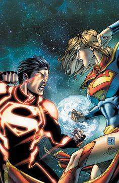 DC New 52 -Superboy #6  Cover byShane Davis & Jonathan Glapion  Others:New DCnU 52|Supergirl| Superboy