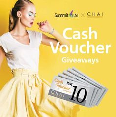 Chai  The Fashion Emporium Cash Voucher Giveaways #Malaysia  Contest period: Now  18 June 2017 Tell us how much is your love to your parents to win yourself RM50 cash voucher of Chai  The Fashion Emporium! How to win? Step 1: LIKE Summit USJ Facebook page Step 2: SHARE this post and INVITE more friends to like Summit USJ Facebook page Step  #malaysia #chai  http://ift.tt/2ri3CDT